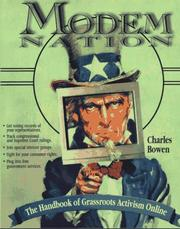 Cover of: Modem nation | Charles Bowen
