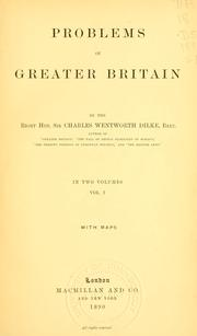 Cover of: Problems of Greater Britain