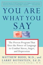 Cover of: You Are What You Say | Matthew Md Budd