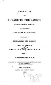 Cover of: Narrative of a Voyage to the Pacific and Beering's Strait, to Co-operate with the Polar ..
