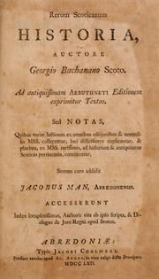 Cover of: Rerum Scoticarum historia