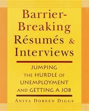 Cover of: Barrier-Breaking Resumes and Interviews | Anita Doreen Diggs
