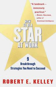 Cover of: How to Be a Star at Work