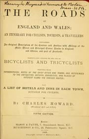 The roads of England & Wales by Charles Howard