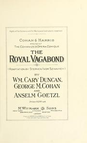 Cover of: royal vagabond | Anselm Goetzl
