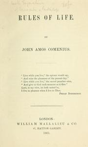 Cover of: Rules of life