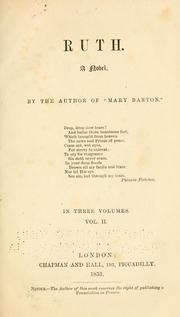 Cover of: Ruth (volume II)