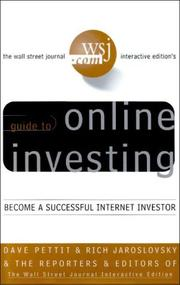 Cover of: Online Investing | Dave Pettit