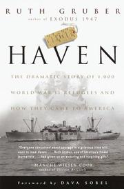 Cover of: Haven | Ruth Gruber