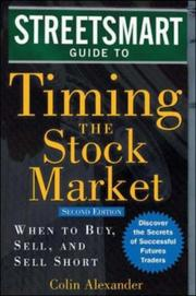 Cover of: Streetsmart guide to timing the stock market