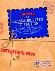 Cover of: The Crosswords Club Collection, Volume 1 (Other) | Will Weng
