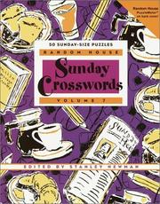 Cover of: Random House Sunday Crosswords, Volume 7 (Stan Newman) | Stanley Newman