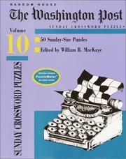 Cover of: Washington Post Sunday Crossword Puzzles, Volume 10 (Washington Post)