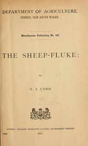 Cover of: The sheep-fluke | Nathan Augustus Cobb