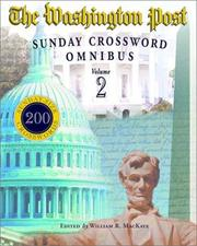 Cover of: Washington Post Sunday Crossword Omnibus, Volume 2 (Washington Post)