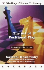 Cover of: The art of positional play