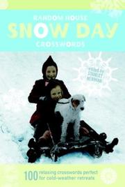 Cover of: Random House Snow Day Crosswords (Vacation) | Stanley Newman