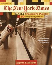 Cover of: New York Times Daily Crossword Puzzles, Volume 35 | Eugene Maleska