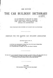 Cover of: Car Builders' Cyclopedia of American Practice by Master Car Builders ' Association , Mechanical Division , Association of American Railroads , American Railway Association , Association of American Railroads Mechanical Division