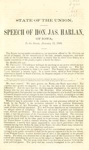 Cover of: State of the Union | Harlan, James