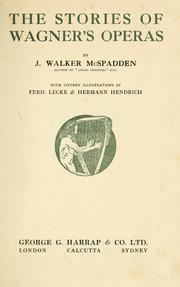 Cover of: The stories of Wagner's operas
