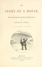 Cover of: The story of a house