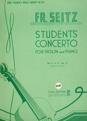 Cover of: Student's concerto