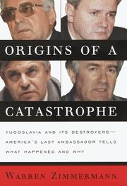 Cover of: Origins of a catastrophe