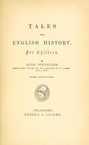 Cover of: Tales from English history: For children.