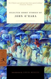 Cover of: Selected short stories of John O'Hara