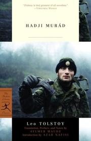 Cover of: Khadzhi-Murat