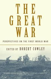 Cover of: The Great War | Robert Cowley