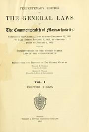 Cover of: Laws, etc. (Compiled statutes : 1932)