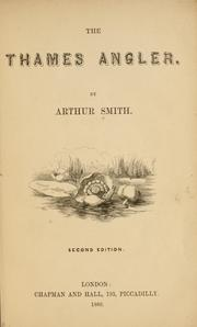 Cover of: The Thames angler