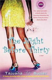 Cover of: The Night Before Thirty | Tajuana Butler