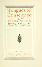 Cover of: Tongues of conscience