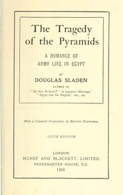 Cover of: The tragedy of the pyramids: a romance of army life in Egypt