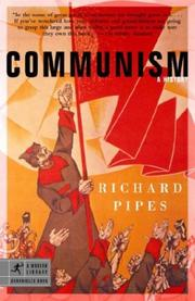 Cover of: Communism | Richard Pipes