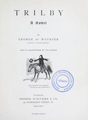 Cover of: Trilby | George Louis Palmella Busson Du Maurier