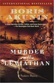 Cover of: Murder on the Leviathan