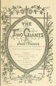 Cover of: The two giants