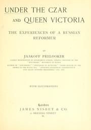 Cover of: Under the Czar and Queen Victoria