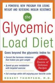 Cover of: The glycemic-load diet
