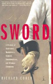 Cover of: By the Sword | Richard Cohen