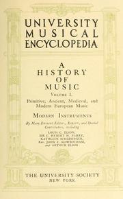 Cover of: University musical encyclopedia |