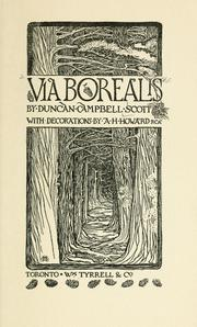 Cover of: Via borealis