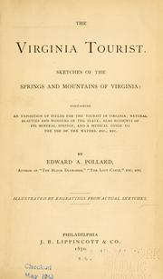 The Virginia tourist by Edward Alfred Pollard