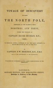 Cover of: A voyage of discovery towards the North Pole