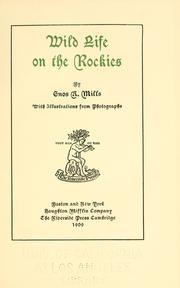 Cover of: Wild life on the Rockies
