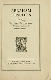 Cover of: William Harris, Jr., presents John Drinkwater